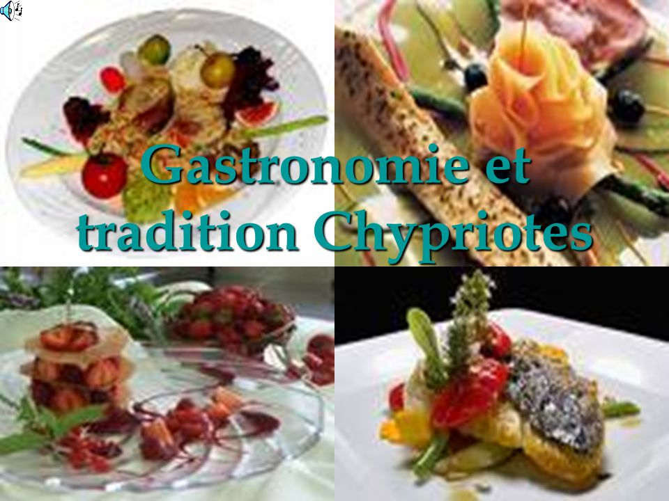Gastronomie et tradition Chypriotes