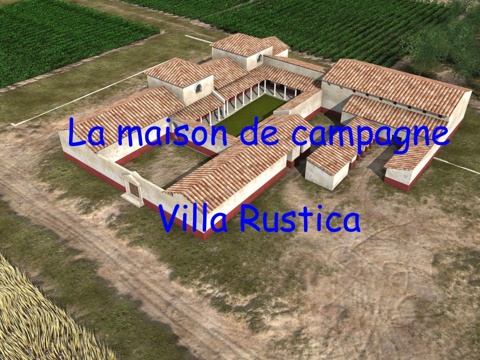 la maison de campagne villa rustica ppt video online t l charger. Black Bedroom Furniture Sets. Home Design Ideas