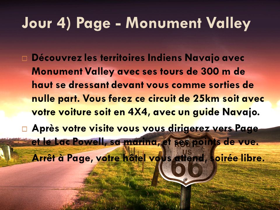 Jour 4) Page - Monument Valley