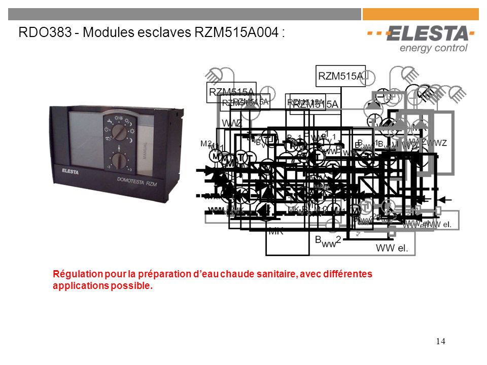 RDO383 - Modules esclaves RZM515A004 :