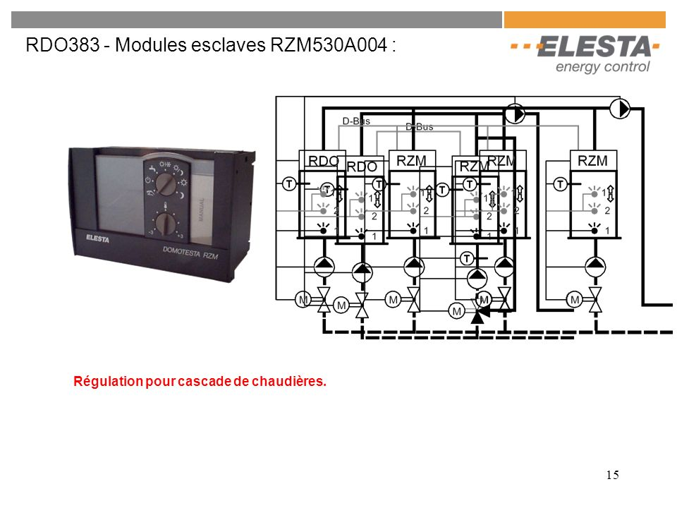 RDO383 - Modules esclaves RZM530A004 :