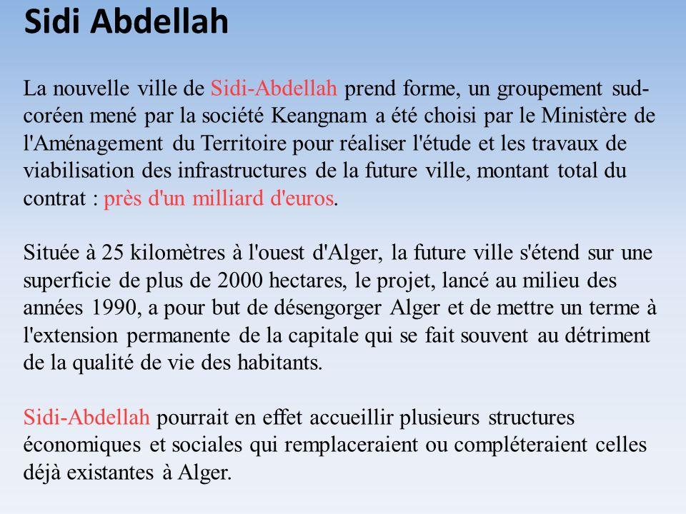 étude projet industriel algérie