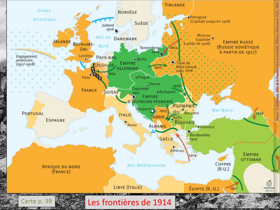 V La Carte De Leurope Transformée Par La Guerre Ppt Video Online