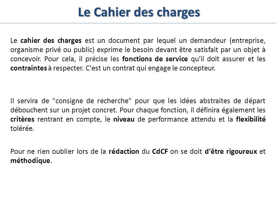 La Redaction Du Cahier Des Charges Ppt Video Online Telecharger