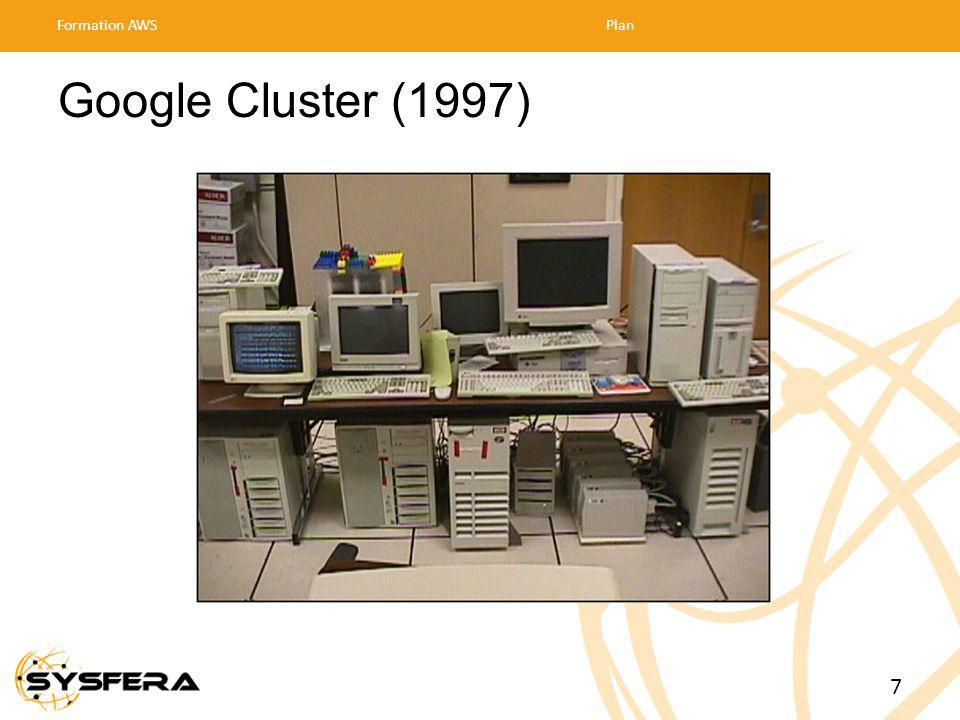 Formation AWS Plan 30/03/2017 Google Cluster (1997) 7 7