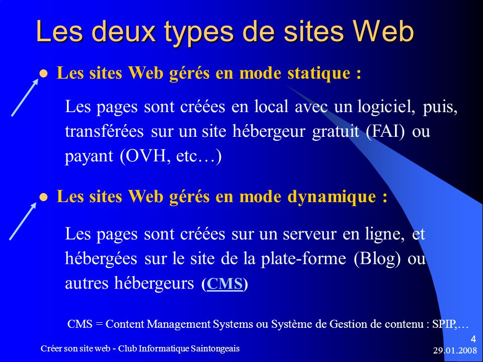 cr u00e9er un site web sur internet