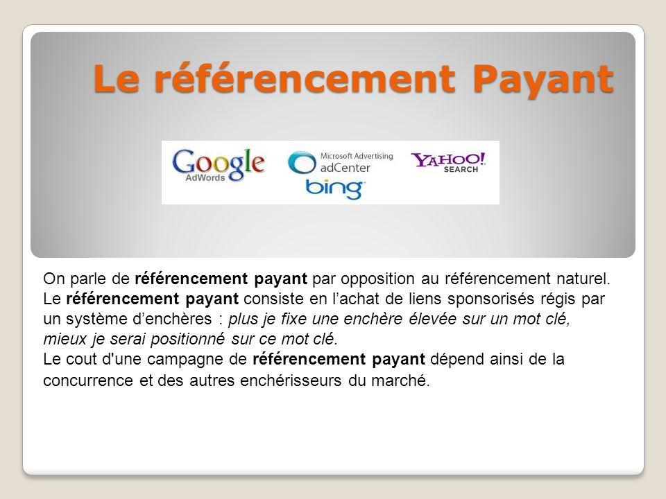 référencement google payant
