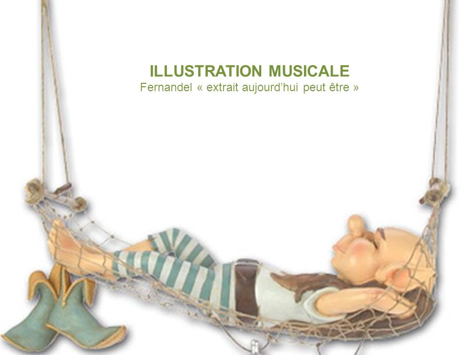 ILLUSTRATION MUSICALE