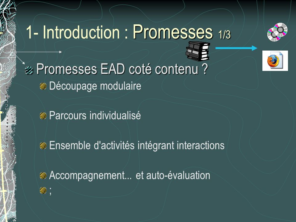 1- Introduction : Promesses 1/3