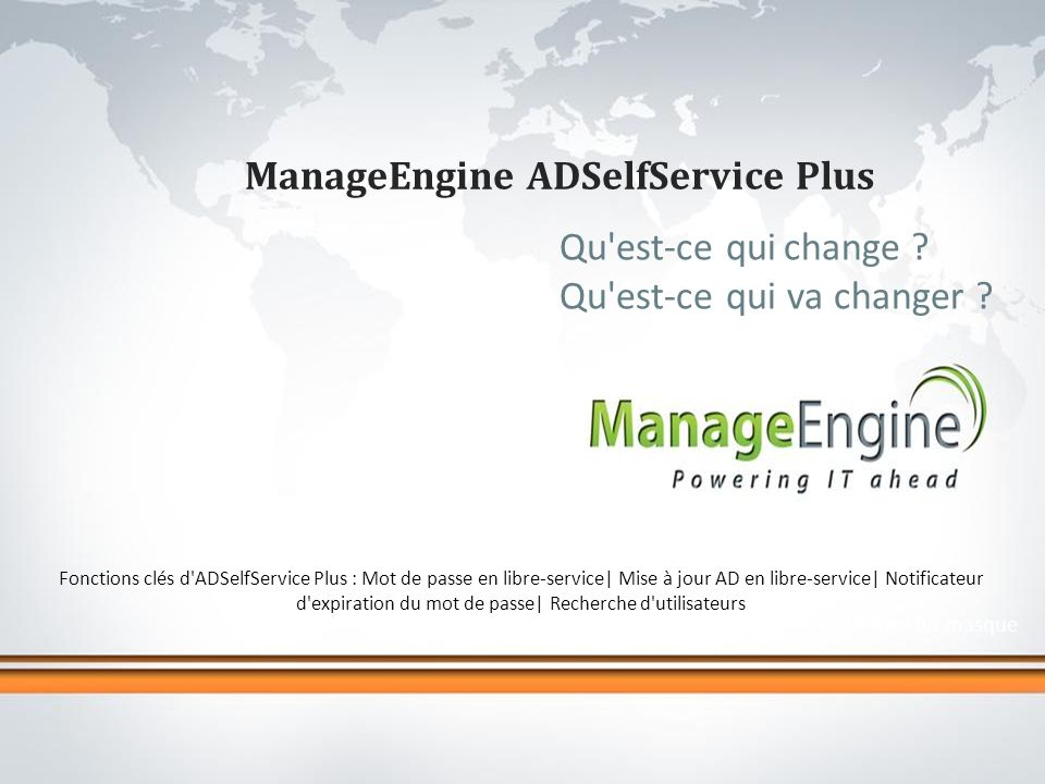 ManageEngine ADSelfService Plus