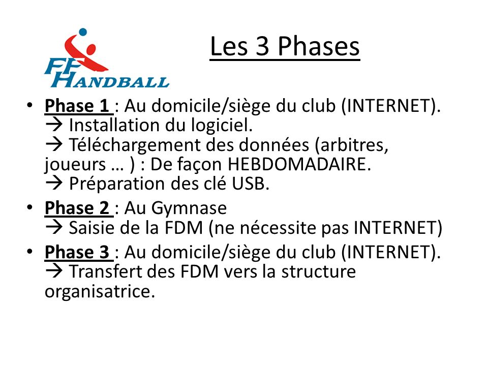 Les 3 Phases