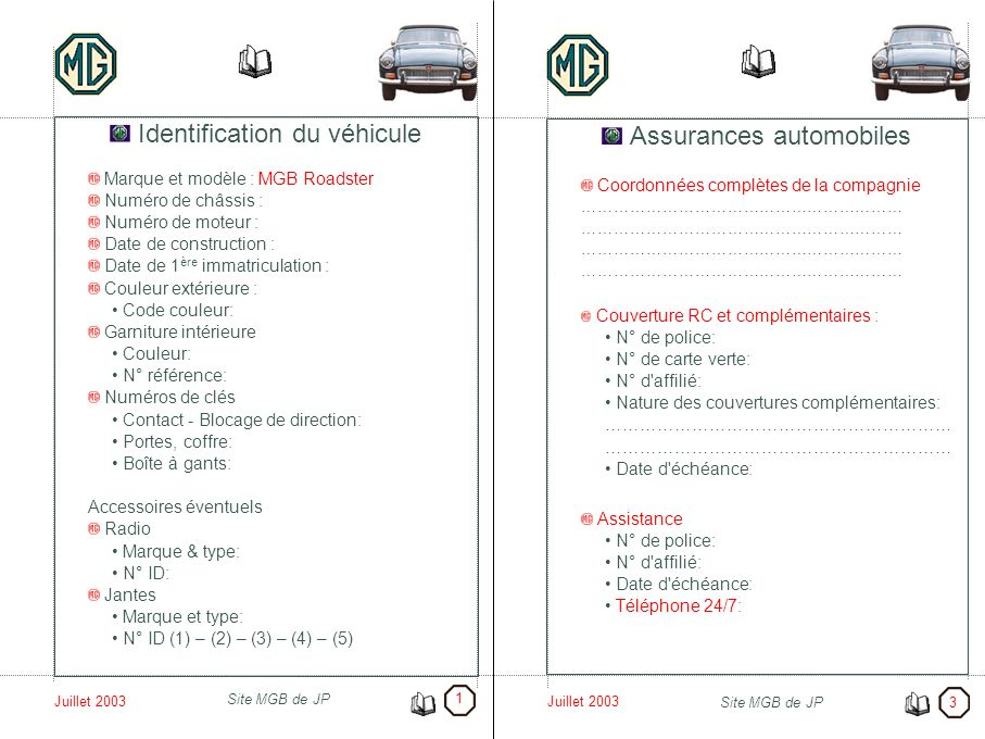 identification du v hicule assurances automobiles ppt video online t l charger. Black Bedroom Furniture Sets. Home Design Ideas