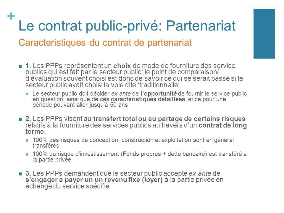 1 Fonctionnement Et Evolution Des Contrats De Partenariat Ppt Telecharger