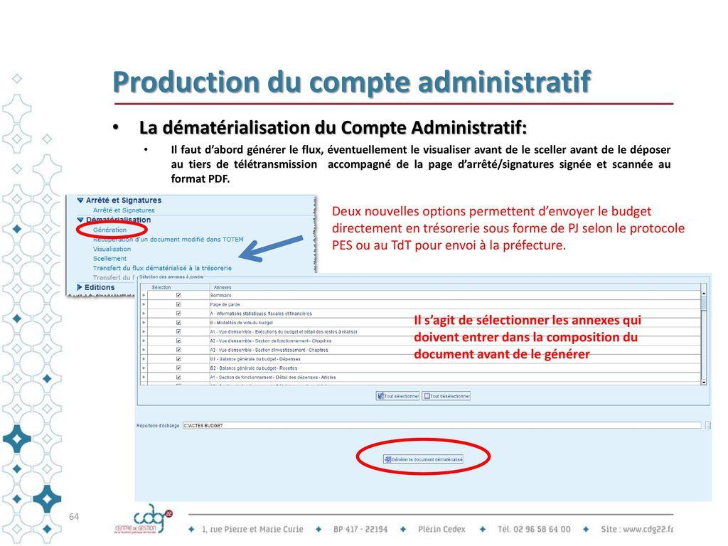 comptes administratifs esms
