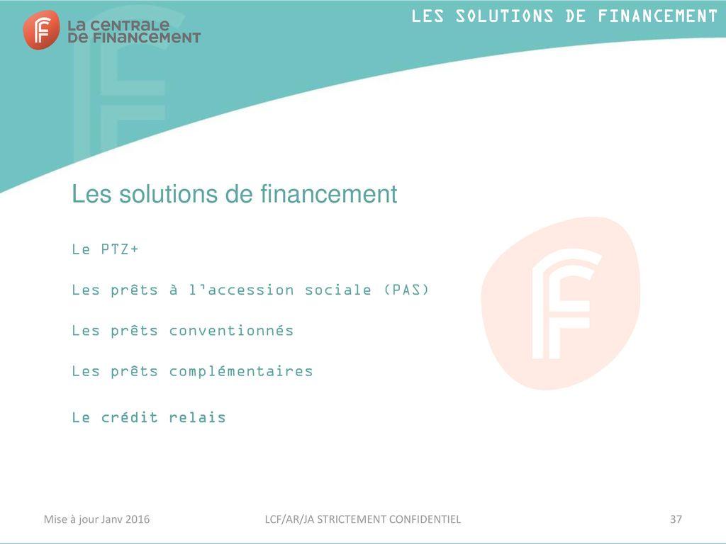 Le Neuf Et Son Financement Ppt Telecharger