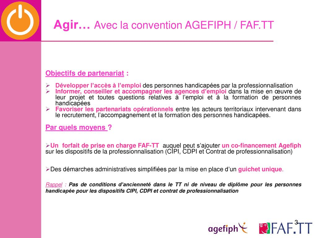 Reunion Agences D Emploi Cap Emploi Agefiph Faf Tt Ppt