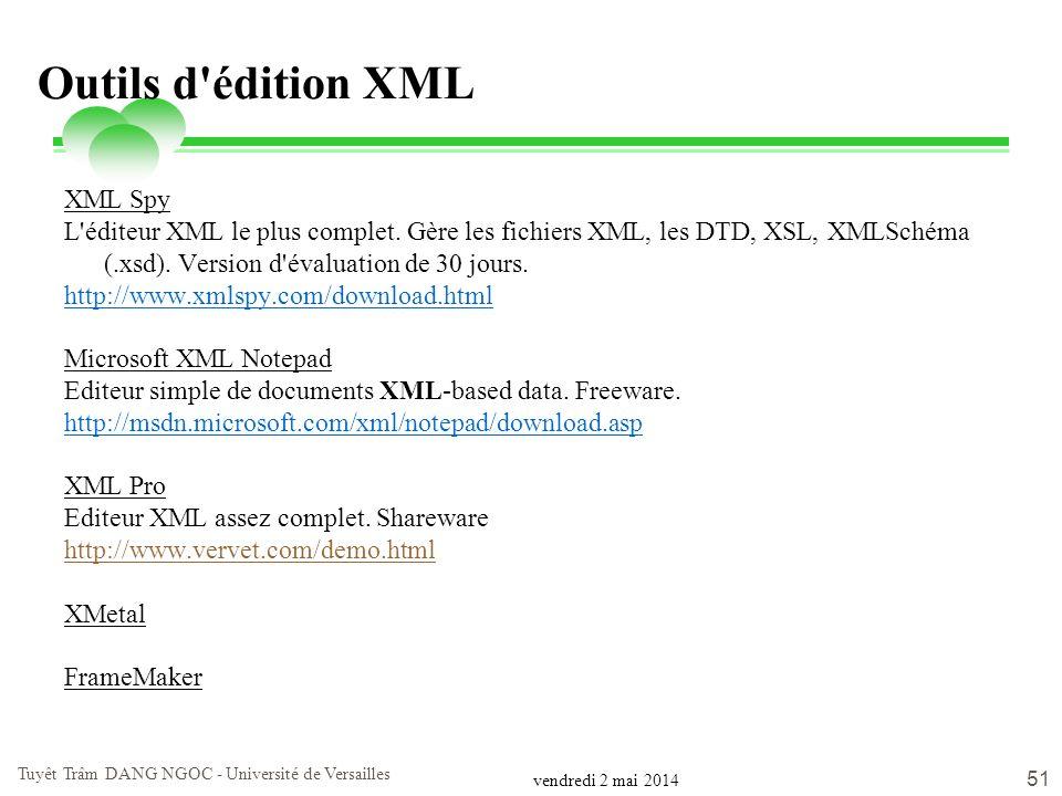 Freeware editeur xml