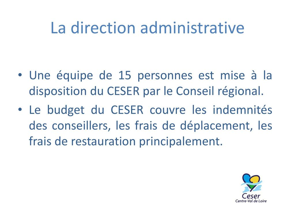 La direction administrative