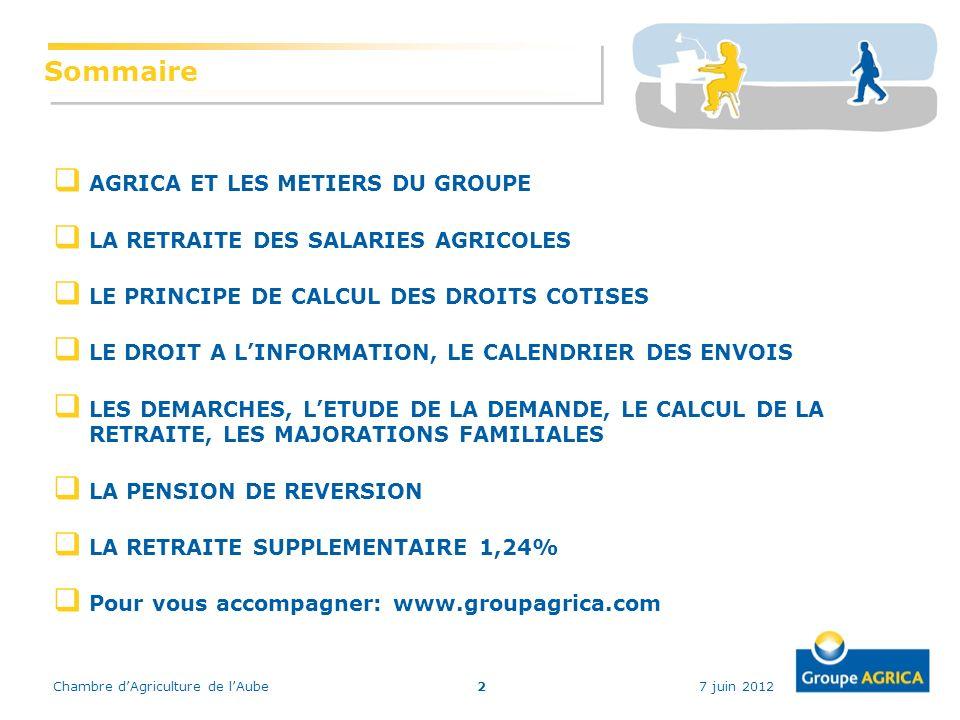 R union d information retraite chambre d agriculture de l - Chambre d agriculture 24 ...