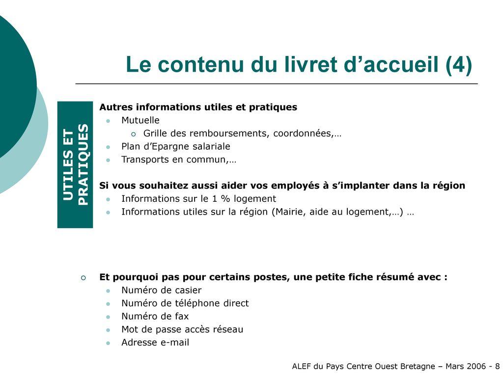 Exemple De Livret D Accueil D Une Entreprise   Le Meilleur Exemple
