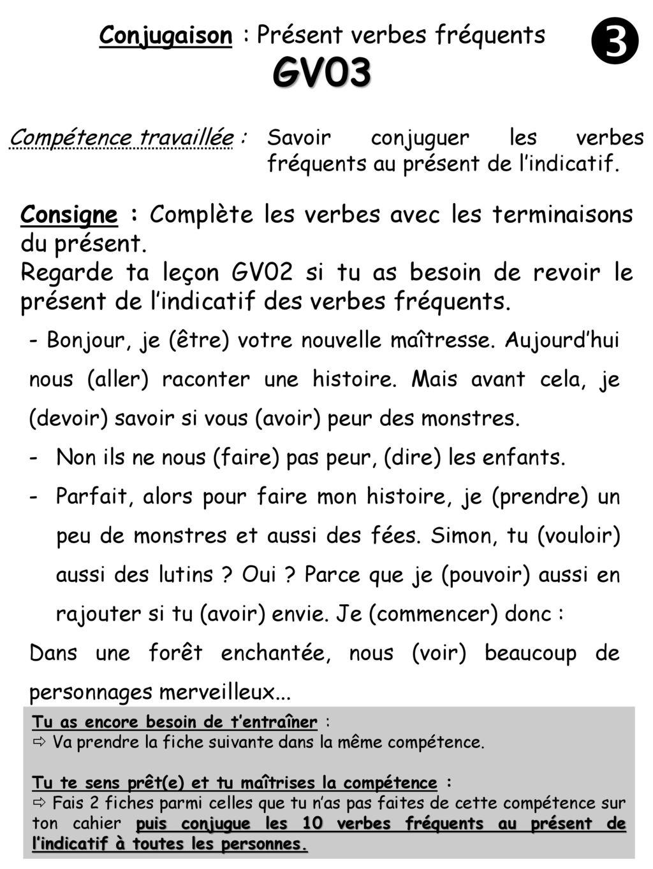 Conjugaison Present Verbes Frequents Ppt Telecharger