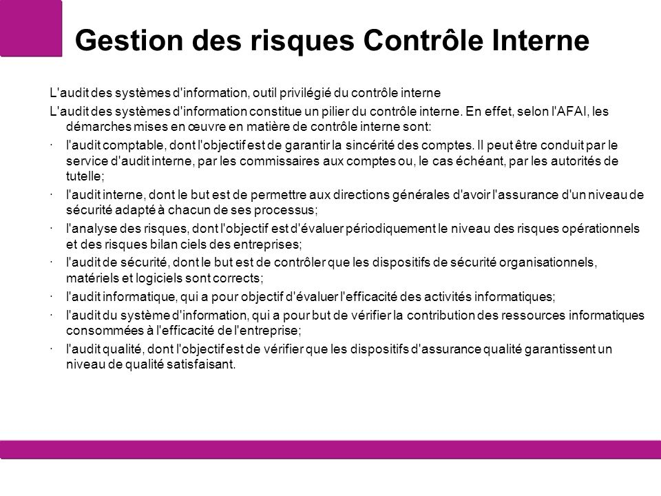 objectif de l audit interne pdf