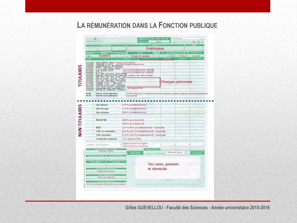fb0fc97bcf0 La Remuneration Dans La Fonction Publique Ppt Telecharger