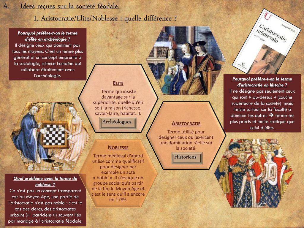 différence aristocratie et noblesse