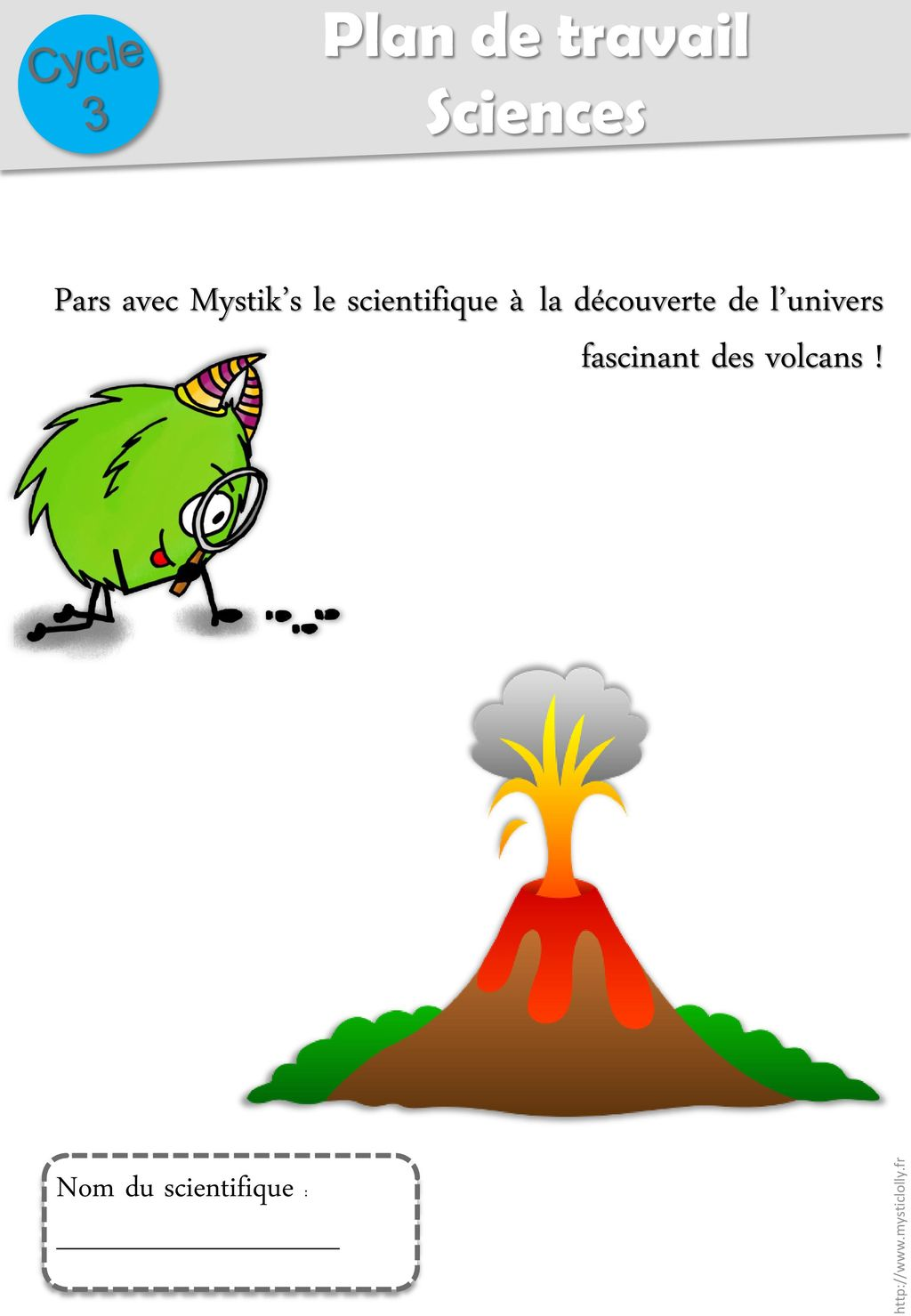 scientifique des volcans