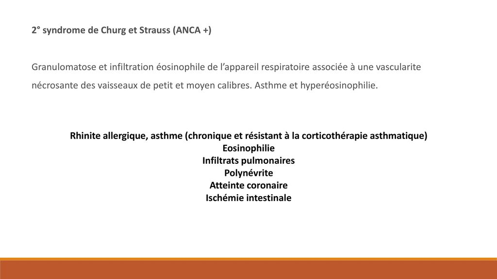 Infiltrats pulmonaires