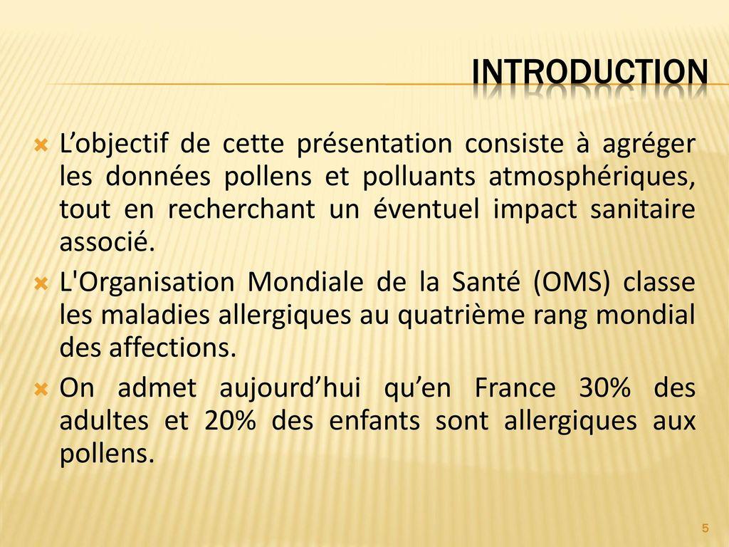 pollution pollen et pollinoses ppt t l charger. Black Bedroom Furniture Sets. Home Design Ideas