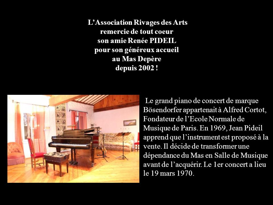 Théâtre de l'Archipel Concert de Printemps - ppt video