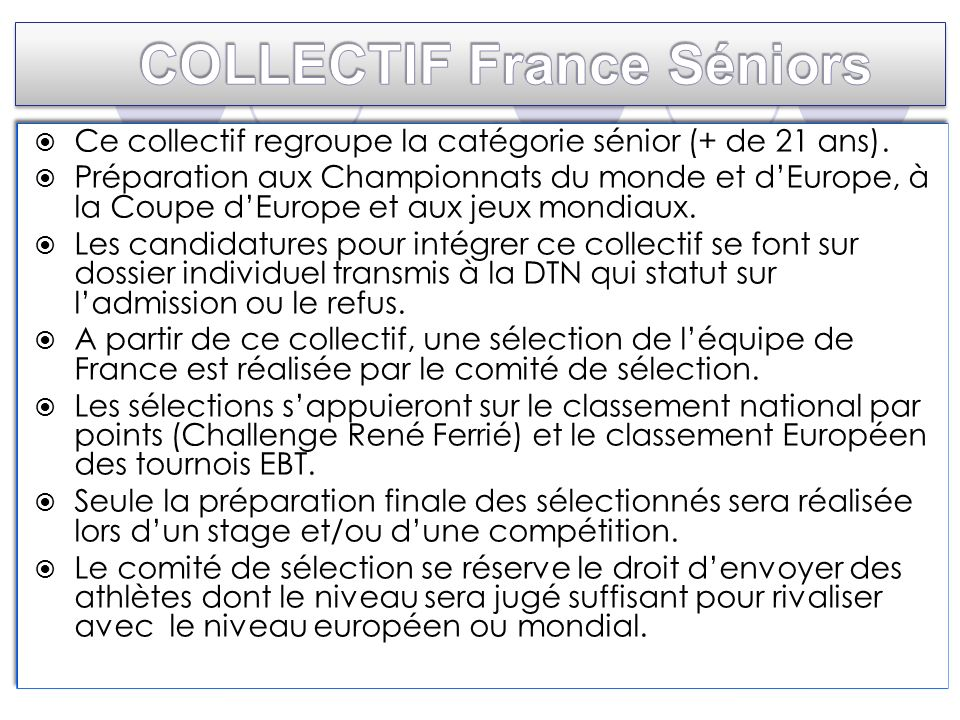 COLLECTIF France Séniors