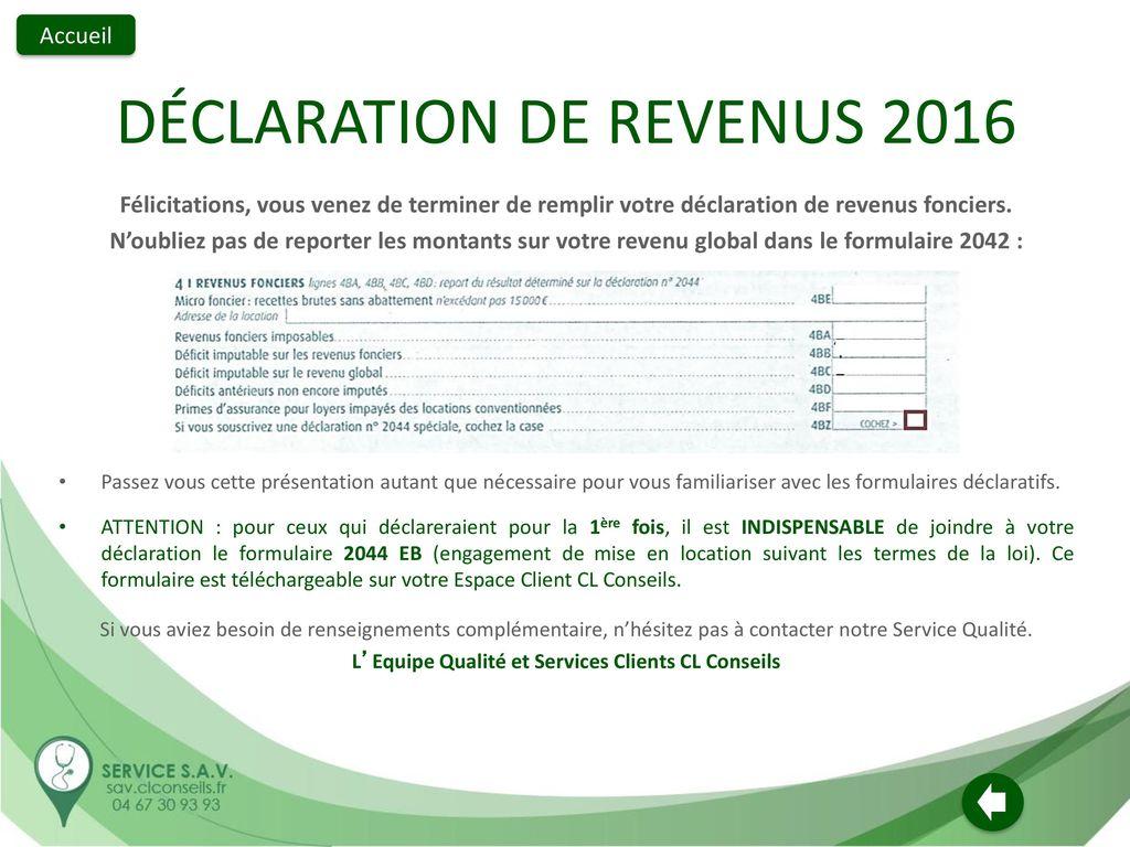 Remplir Votre Declaration De Revenus 2016 Sur Revenus Percus En