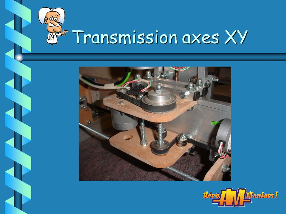 Transmission axes XY