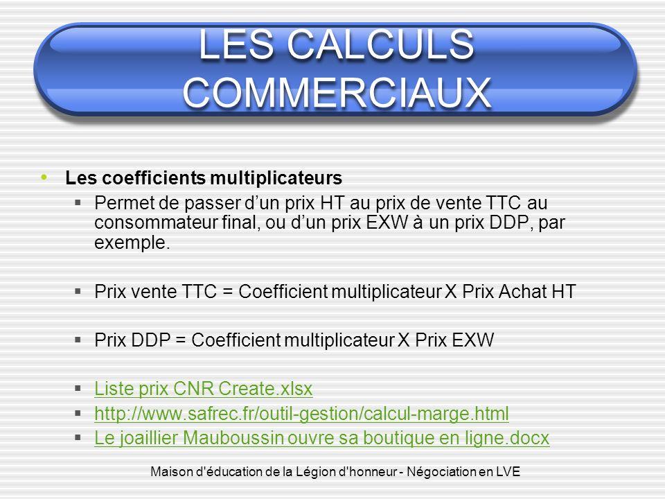 Les Calculs Commerciaux Ppt Telecharger