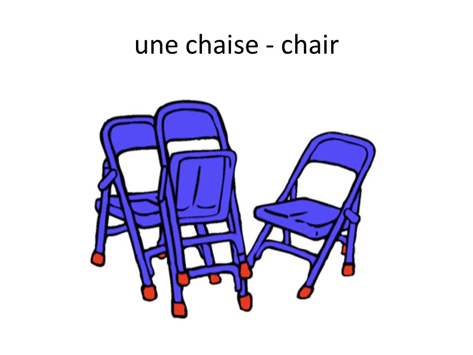 une chaise - chair