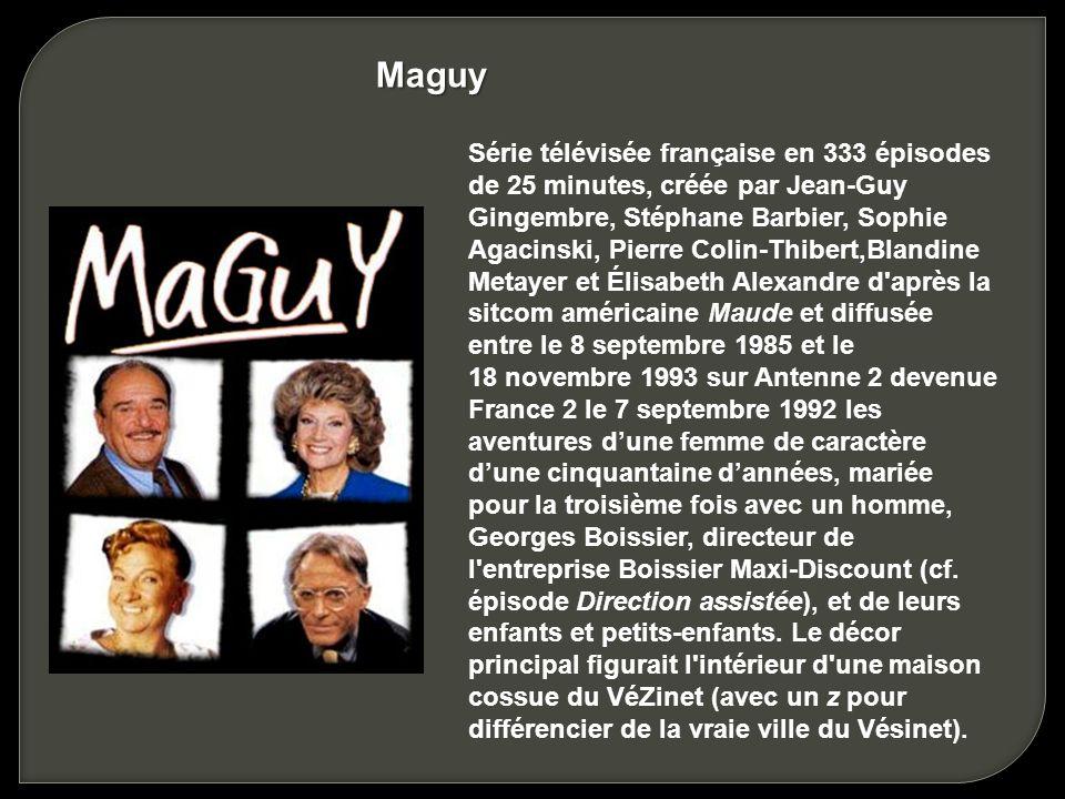 GENERIQUE MAGUY TÉLÉCHARGER