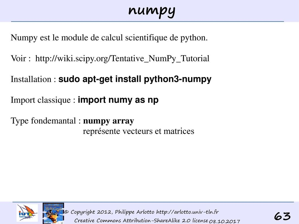 Python (une brève introduction à) IUT GEII - ppt télécharger