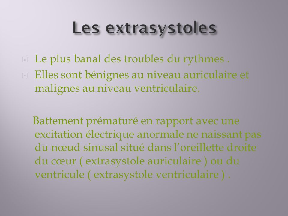 Troubles du rythme et de la conduction - ppt video online ...