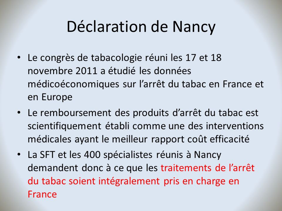Déclaration de Nancy