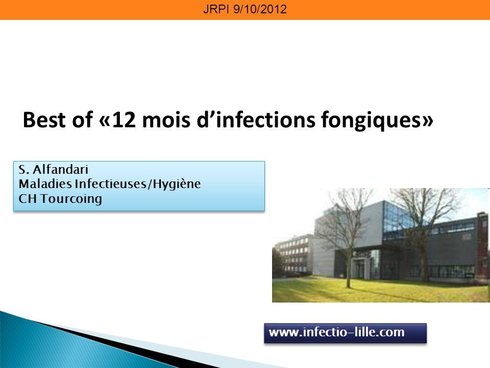 Best of «12 mois d'infections fongiques»