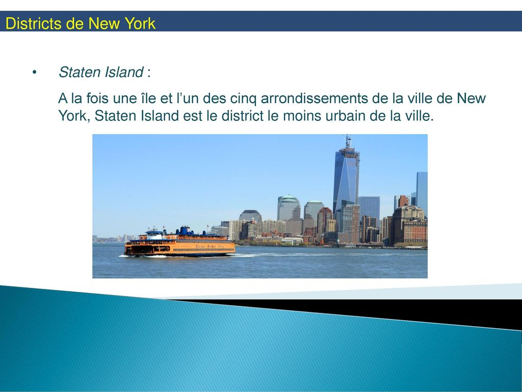Districts de New York Staten Island :