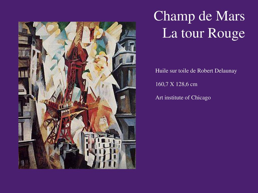Champ de Mars La tour Rouge