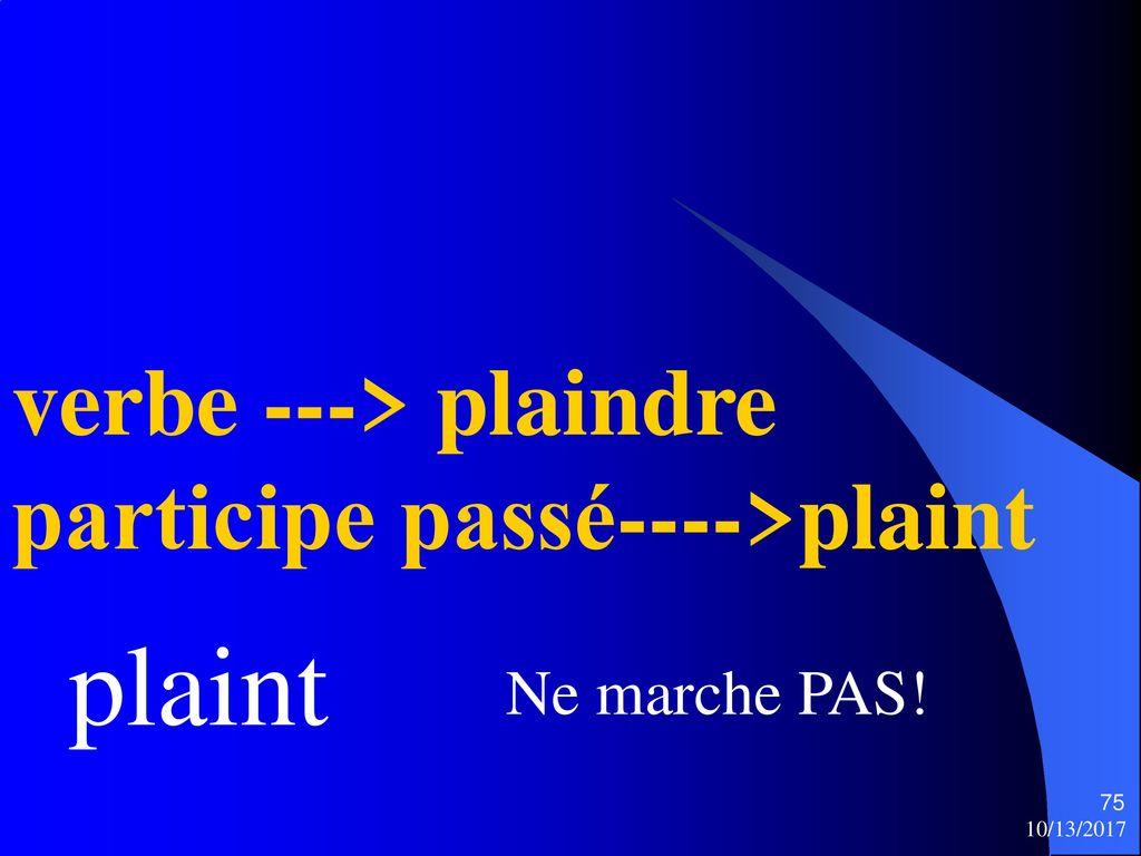 Le Passe Simple 10 13 Ppt Telecharger