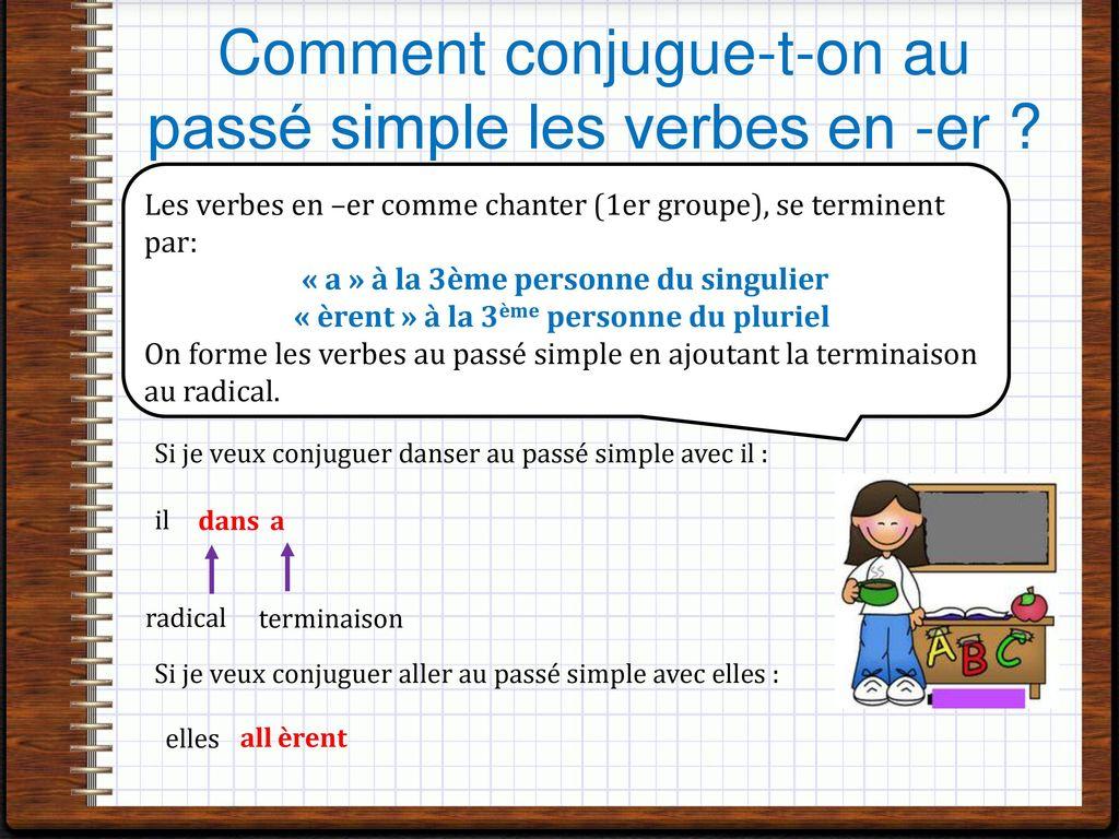 Conjuguer Au Passe Simple Ppt Video Online Telecharger