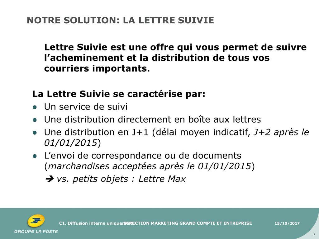Presentation Lettre Suivie Ppt Video Online Telecharger