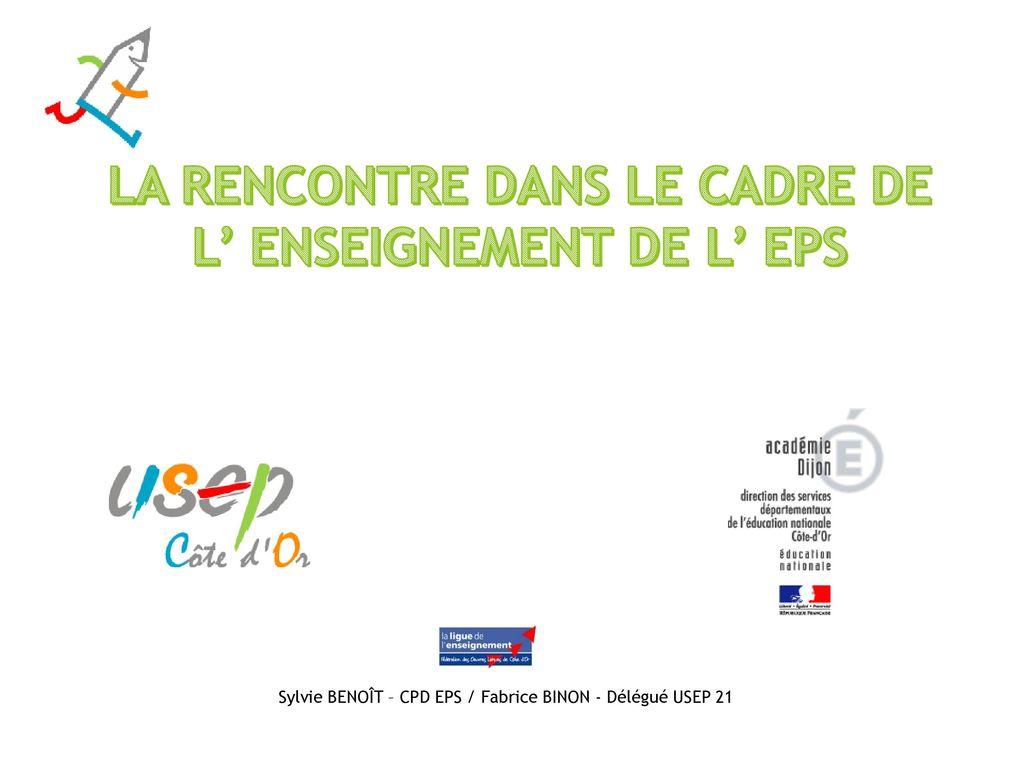 de51cbc53f4 LA RENCONTRE DANS LE CADRE DE L  ENSEIGNEMENT DE L  EPS - ppt video ...