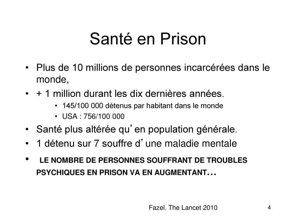prison dans le monde
