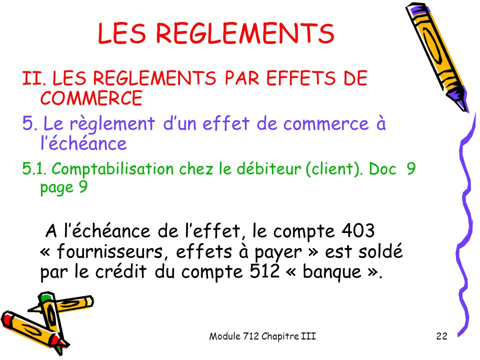 compte effets a payer